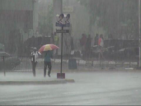 Raw: Matthew Brings Torrential Rains to Jamaica