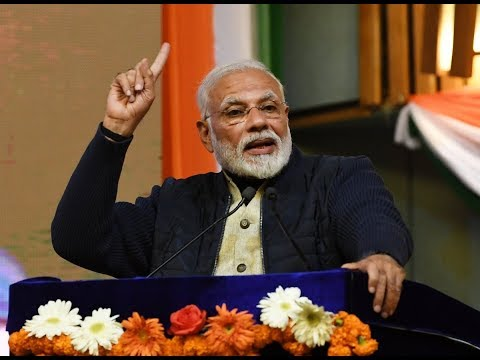PM Narendra Modi dedicates development projects to the Nation in Srinagar, JK