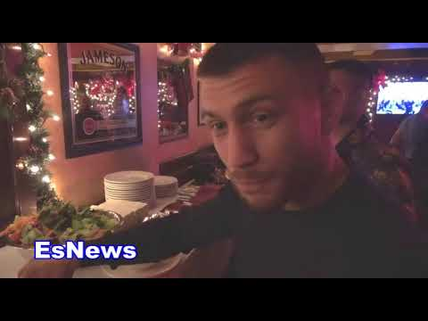 ((Exclusive Vid)) Boxing Superstar Vasyl Lomachenko Victory Party - EsNews Boxing
