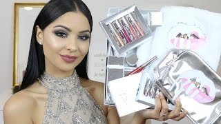 Kylie Cosmetics HAUL Holiday Collection 2016 | Diana Saldana