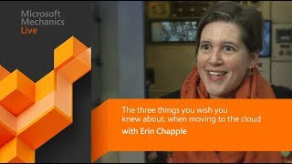 3 things you wish you knew about before moving to Azure (Microsoft Ignite)