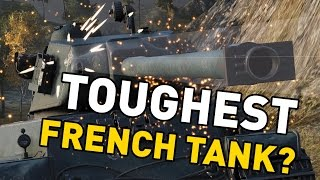 World of Tanks || Toughest French Tank