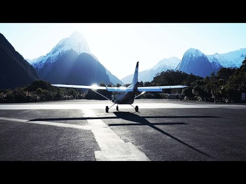 Private Plane Ride Over New Zealand