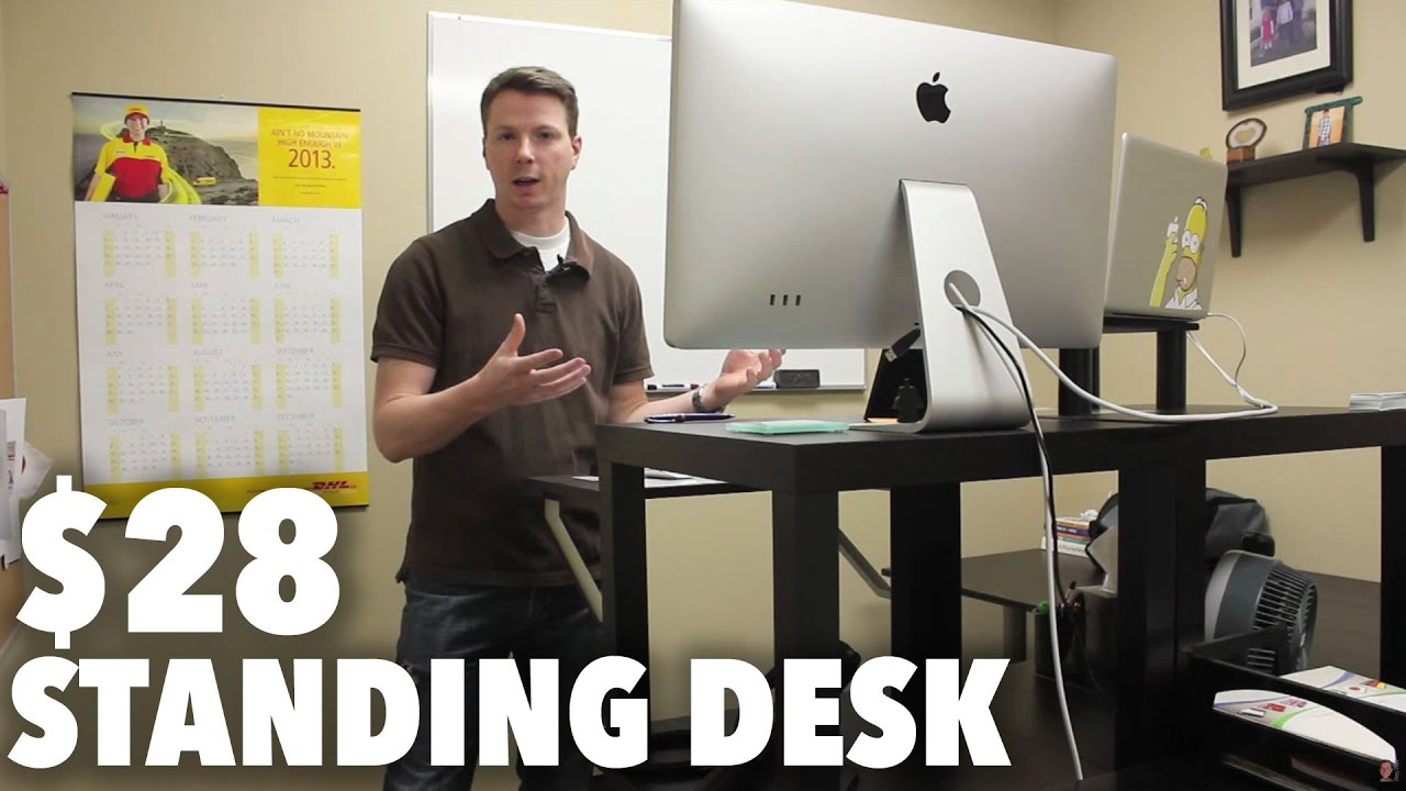 The 28 Stand Up Desk Youtube