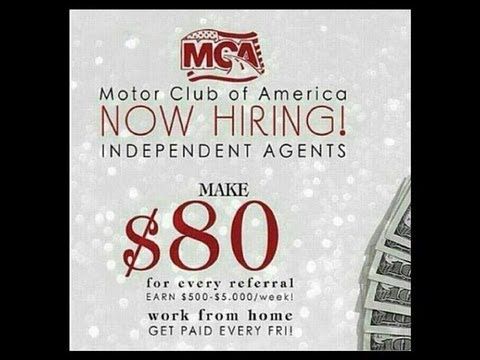 Work from home with mca motor club of america employment Motor club of america careers