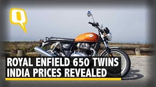 Royal Enfield Interceptor 650 & Continental GT: India Prices Announced | The Quint