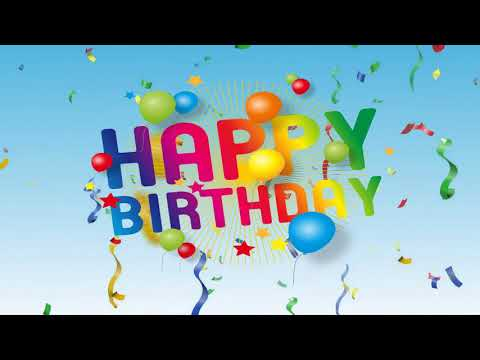 Happy Birthday to You - most popular version