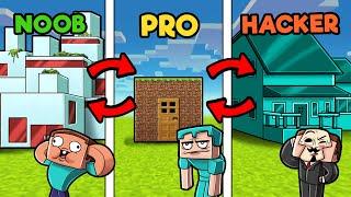 Swap Builds EVERY 30 Seconds! (NOOB vs PRO vs HACKER)