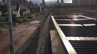 【JR北海道】工事中の苗穂駅を通過する731系