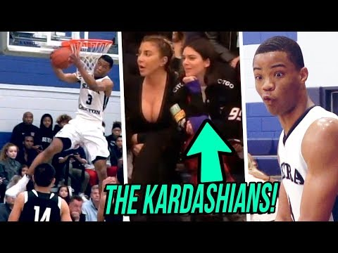 KARDASHIANS Watch Cassius Stanley SHOW OUT in STATE PLAYOFFS! Sierra Canyon VS Foothills Christian