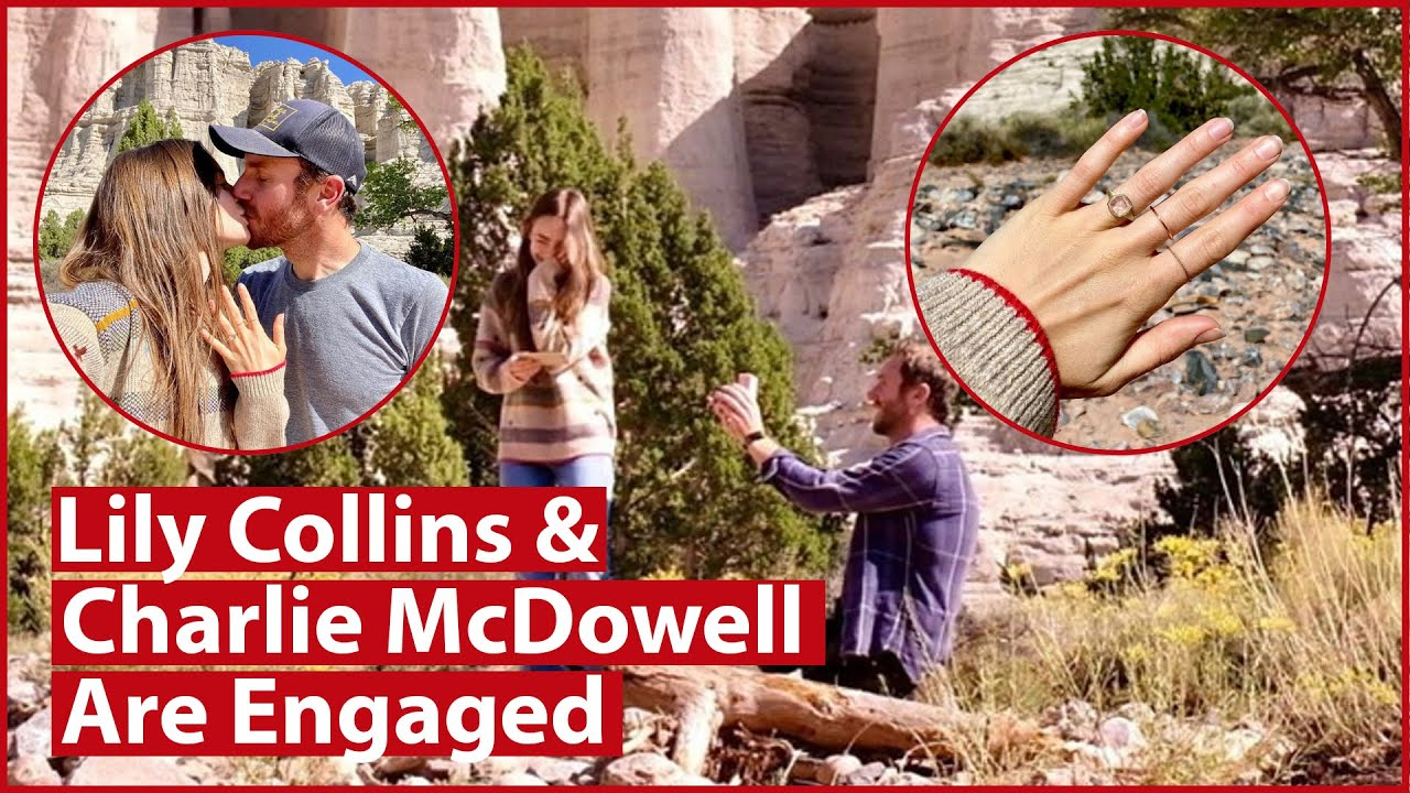 How much Lily Collins' engagement ring is estimated to be worth ...