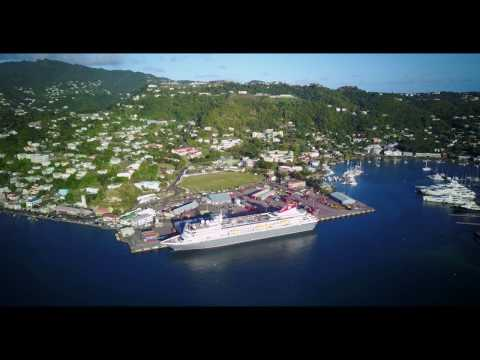 MV Breamar Caribbean Cruise in St Georges, Granada (Part 3) Feb 2017