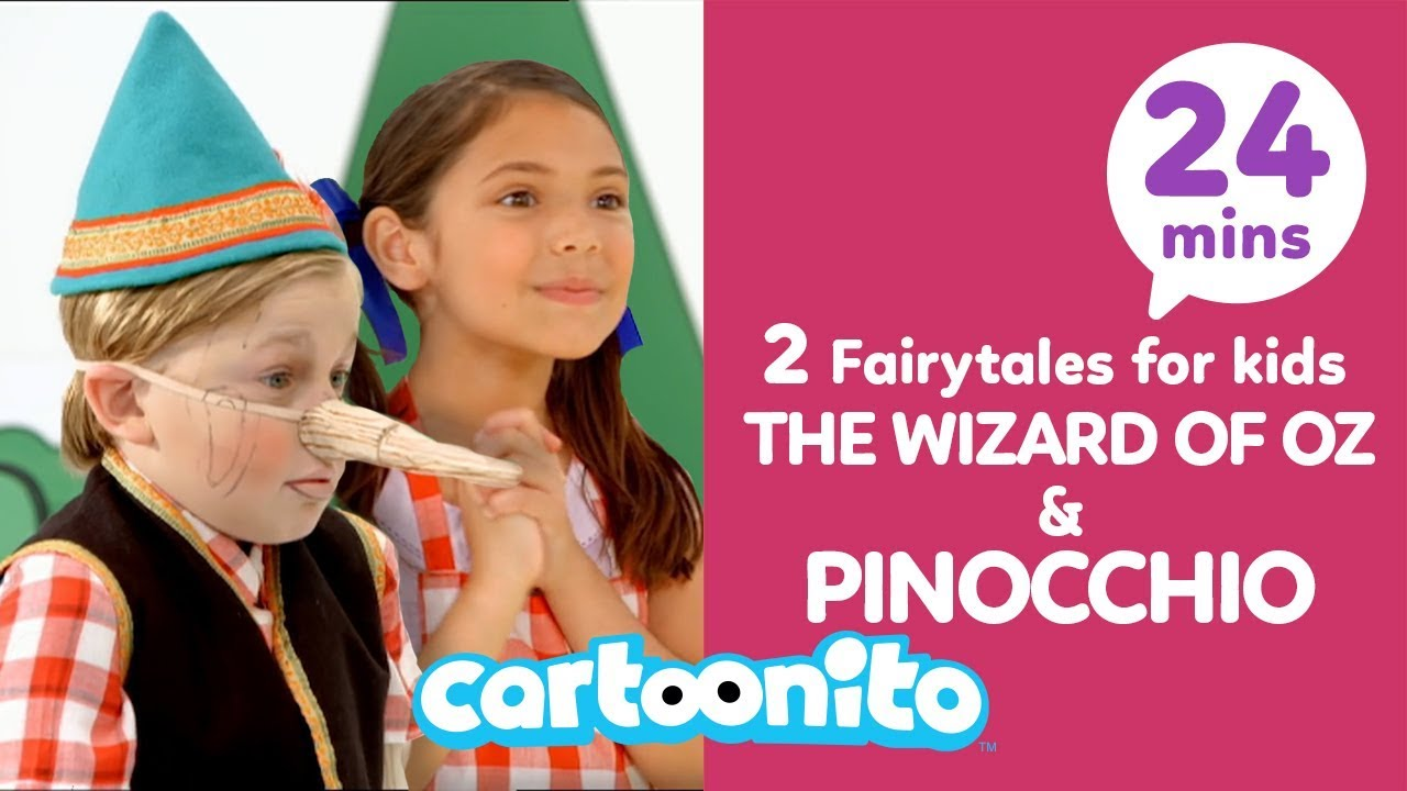 Download The Wizard of Oz + Pinocchio | 2 Fairytales For Kids | Cartoonito UK 🇬🇧