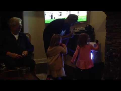 Karaoke party 3rd birthday April 2016