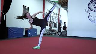 Kim Wong - Wushu/Martial Arts Clip