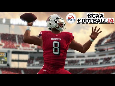 LAMAR JACKSON GOES OFF!! HEISMAN WINNER!?! - NCAA 14