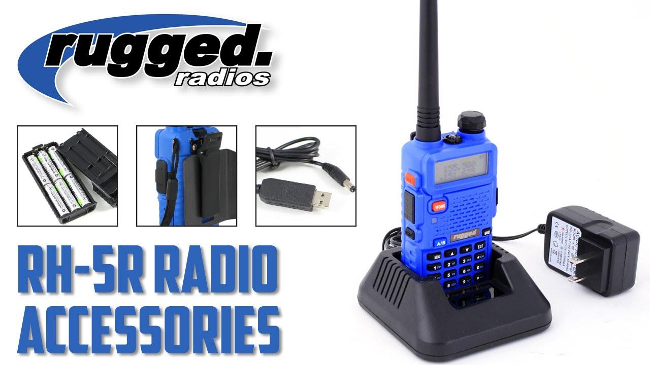 Rugged Radios: RH-5R Accessories