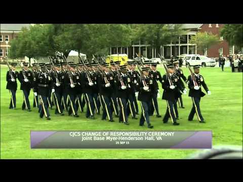CJCS Retirement and Change of Responsibility Ceremonies (Full Version)