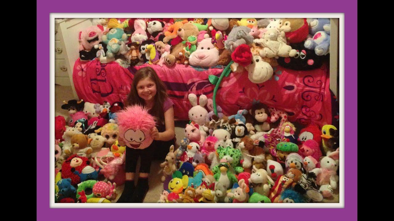 Huge Stuffed Animal Collection Ty Disney Webkinz