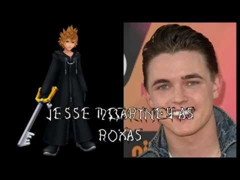 Kingdom Hearts 358/2 Days - All Characters and Voice Actors Part 1
