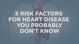 5 Risk Factors for Heart Disease | Cedars-Sinai