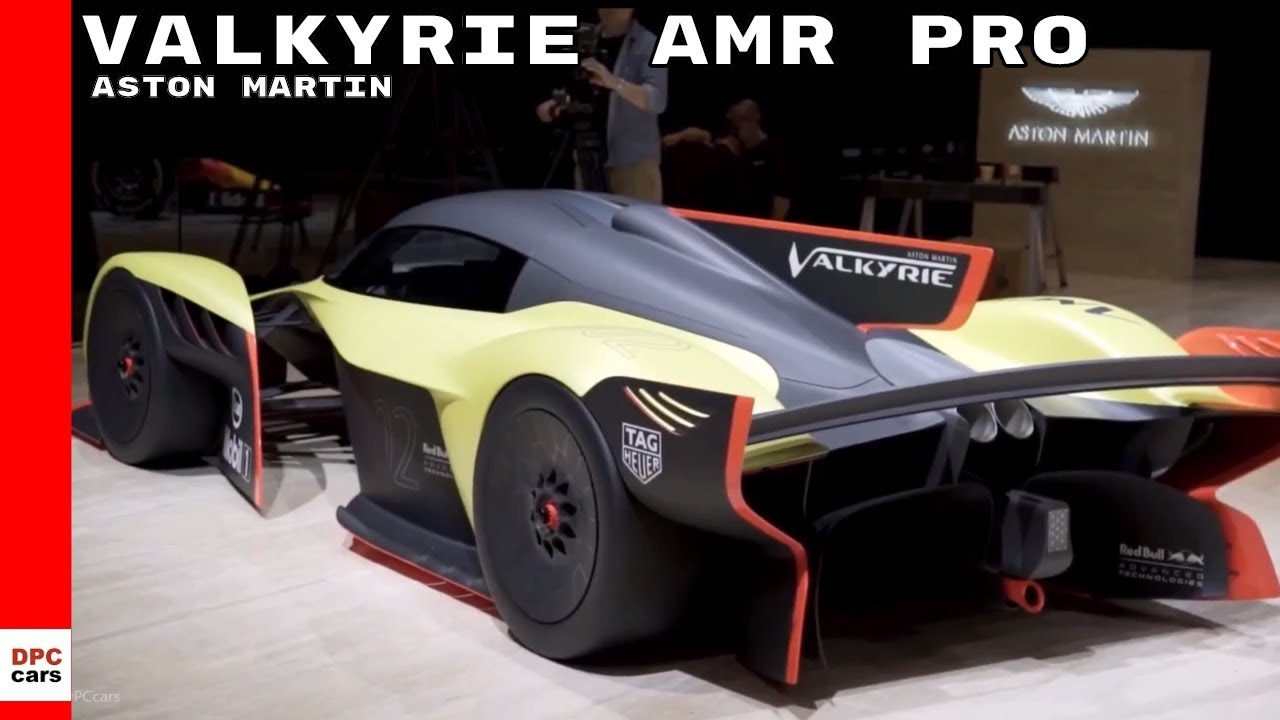 Aston Martin Valkyrie Amr Pro Hypercar At Geneva Youtube