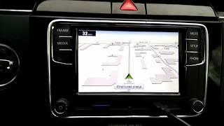 Бюджетная GPS навигация в RCD330+ Desay / GPS navigation for RCD330+ Desay