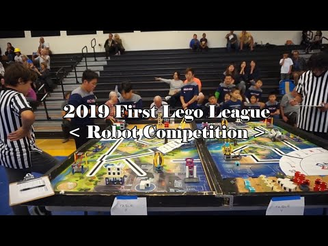 2019 First Lego League - Robot Competition 미국 로봇대회 LA지역예선 우승팀(ANCroid) 로봇 경연대회