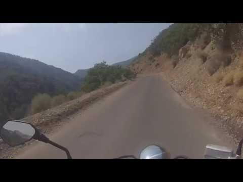 Motorcycle Ride up Butterfield Canyon & Suzuki M50 Review.