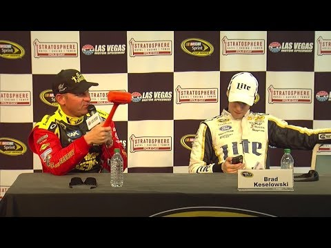 NASCAR Interview Shenanigans