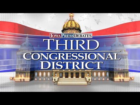 Iowa Press Debates: Third Congressional District