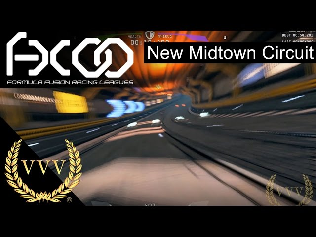 Formula Fusion - New Midtown Circuit Gameplay