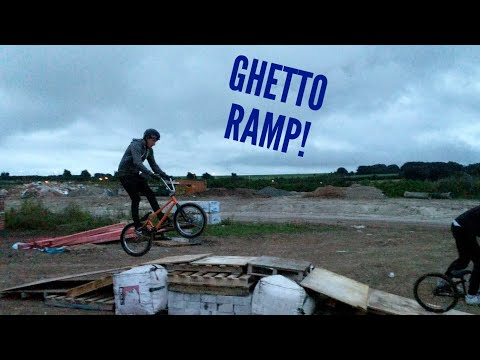 DAILY SESSIONS 24 | BUILDING A GHETTO RAMP!!
