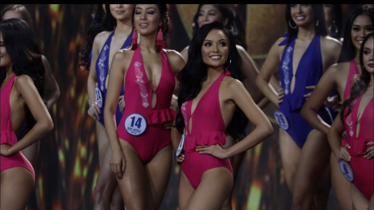 Miss World Philippines 2019 Candidates in Swimsuit