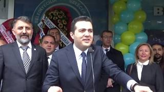 Hasan Sami Özvarinli Kocasinan'da Miting havasında secim Ofisi açılışı gerçekleştirdi.