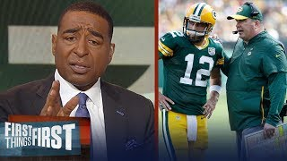Cris and Nick react to Packers firing Mike McCarthy after Week 13 loss | NFL | FIRST THINGS FIRST