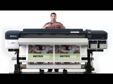 Large Format Printer 1.6m Eco Solvent - (Made in Japan)