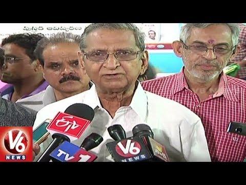 VVIPs Attend For National Book Fair At NTR Stadium   Hyderabad   V6 News