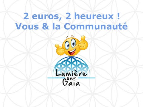 2 euros, 2 heureux... toi et le collectif ;)