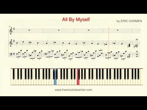 How To Play Piano: Shirley Bassey All  Myself  ERIC CARMEN Piano Tutorial  Ramin Yousefi