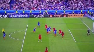 PORTOGALLO CAMPIONE D'EUROPA Minuti finali, Ronaldo in lacrime Francia Portogallo 1 a 0 Euro2016
