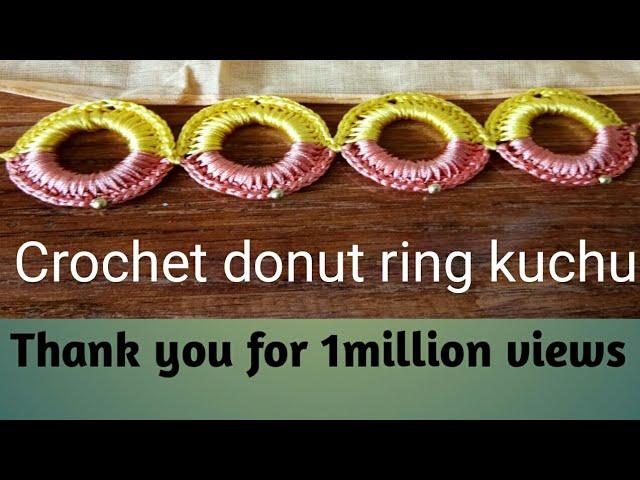 Crochet donut ring kuchu