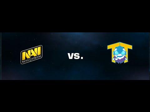 видео: navi vs team tinker #2 - dota 2 esl one Русские комментарии
