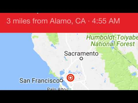 Multi Earthquake 3.3 hit North CA 4.0 Oregon
