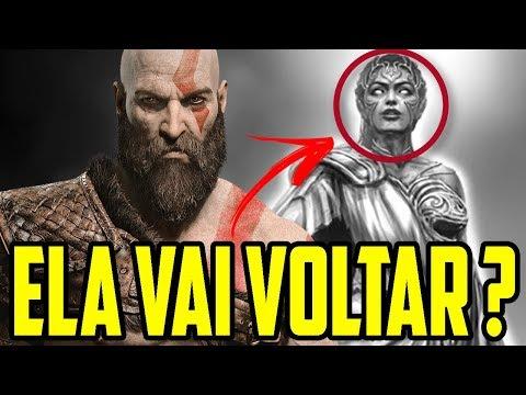 GOD OF WAR 4 - DIRETOR INDICOU A VOLTA DE ATHENA NO NOVO JOGO?