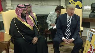President Trump Meets with Crown Prince Mohammad bin Salman of the Kingdom of Saudi Arabia