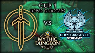 Golden Guardians vs Does Gargoyle Stream? | Part 1 | Upper Quarters | MDI Shadowlands Cup 1