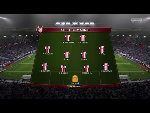 (PS4/Xbox One) FIFA 15 | Atlético Madrid Vs Real Madrid - Next-Gen Full Gameplay (1080p HD)