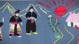 Make Money Work | Hmong Story Cloth