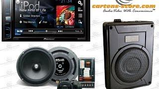 Audio Mobil Simpel Upgrade HU Speaker Dan Subwoofer Aktif Kolong Jok Mobil